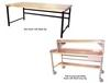 HEAVY-DUTY WORK BENCHES - BASIC BENCHES WITH WOOD COMP TOP